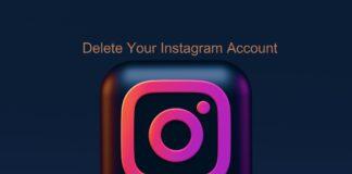 delete your instagram account